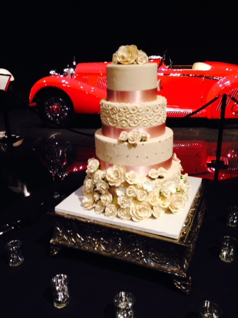 Wedding Cake with Car